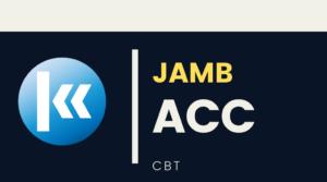 JAMB FINANCIAL ACCOUNTING KOFA