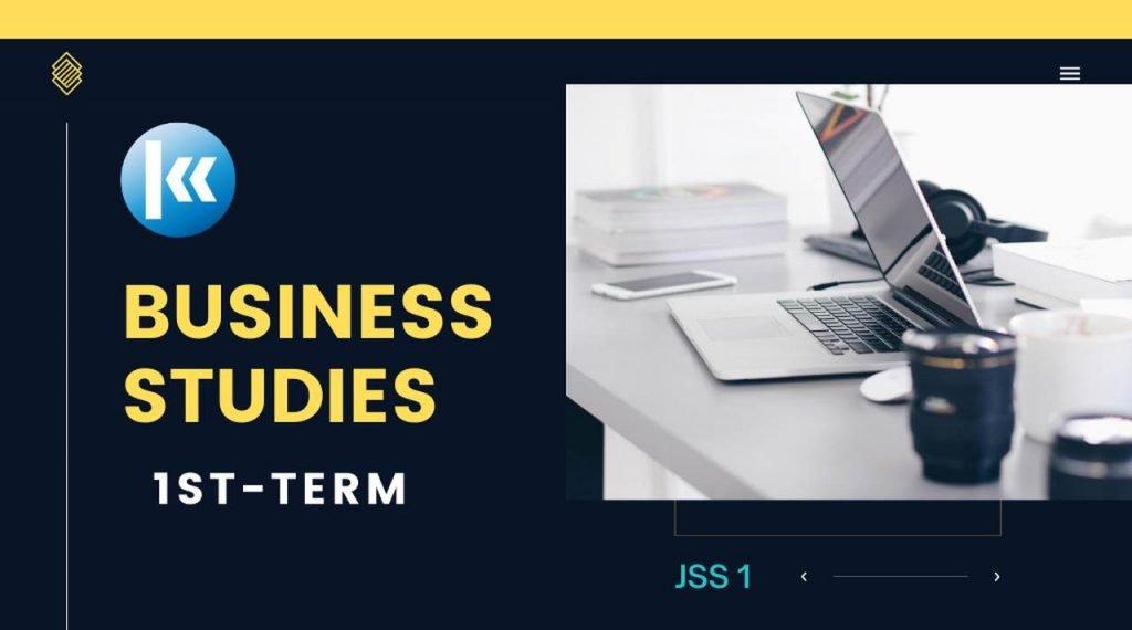 Business Studies JSS1 | KOFA