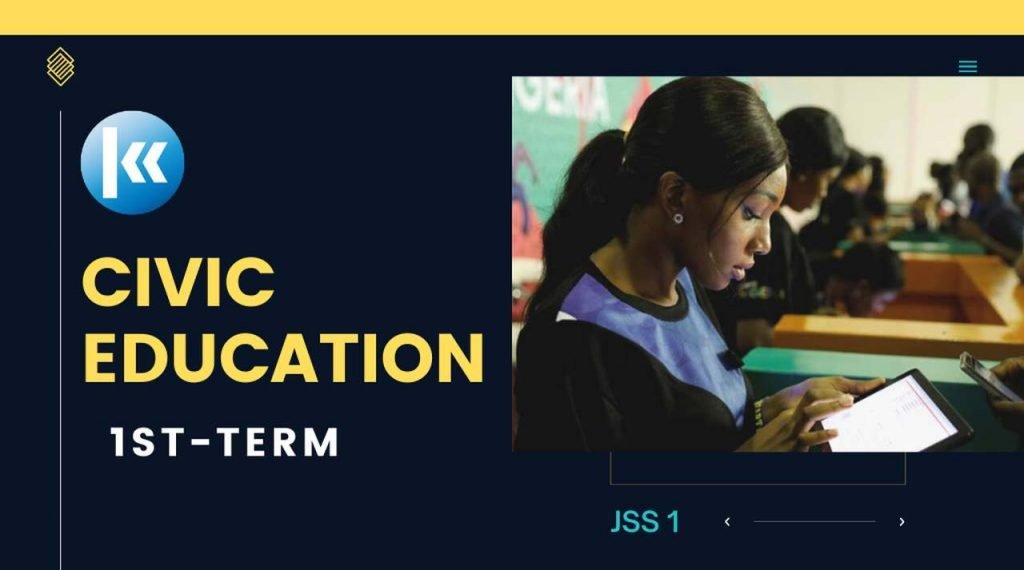 Civic Education JSS1   KOFA