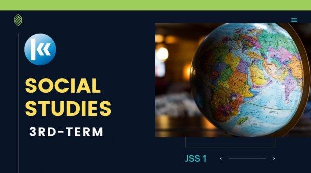 Social Studies 3rd term JSS1