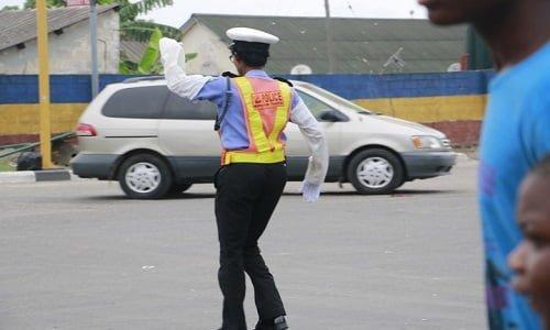 female traffic warden