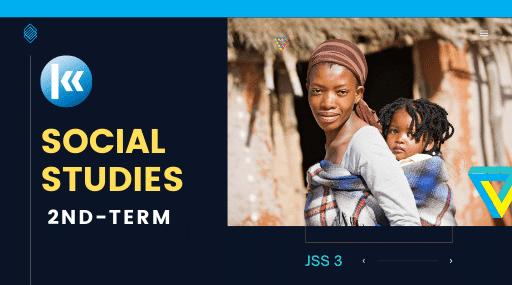 Social Studies Jss3 2nd term