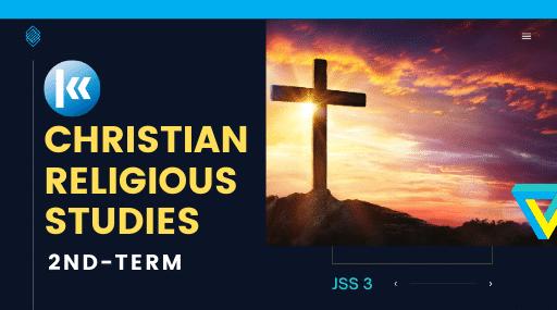 Christian Religious Studies Jss3 2nd term Kofa