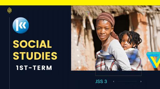 Social Studies Jss3 1st term