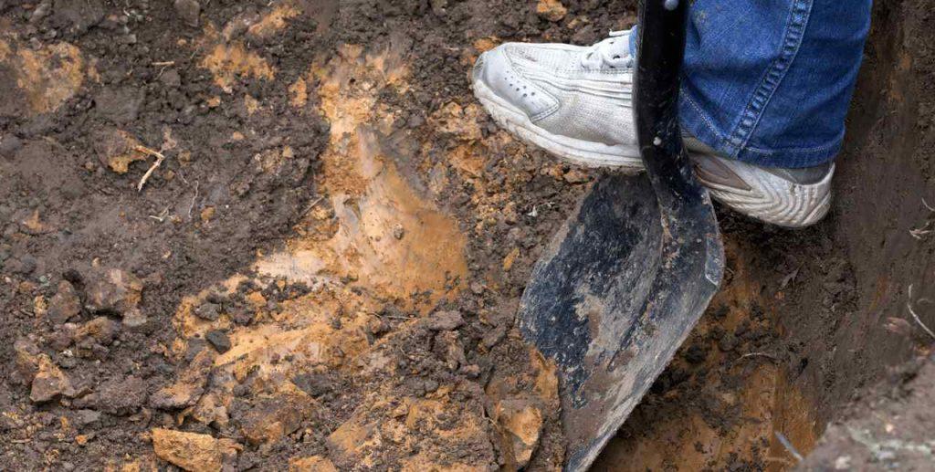 Excavation of Clay