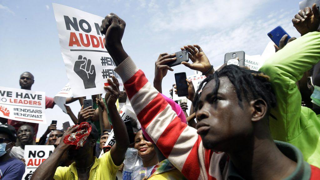 Protest in Nigeria