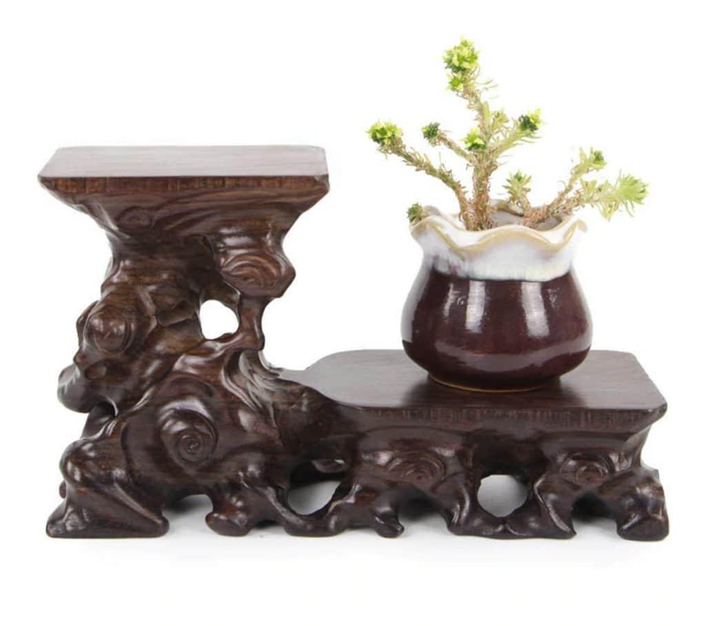 Redwood Decoration Vase Base