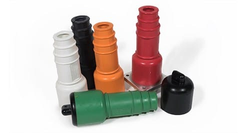 Rubber Electrical Connection Insulators