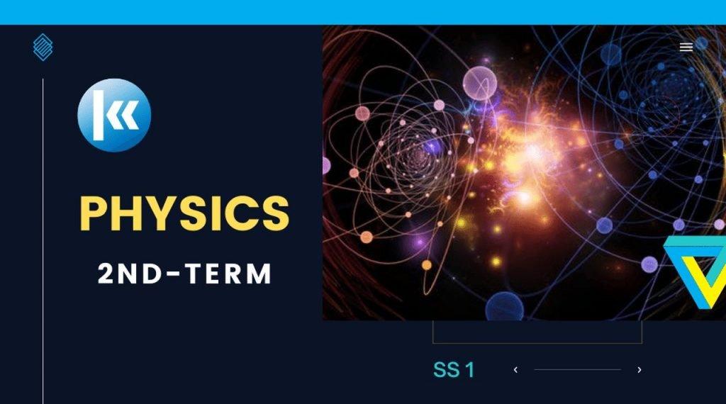 SS1 Physics 2nd term KofaStudy