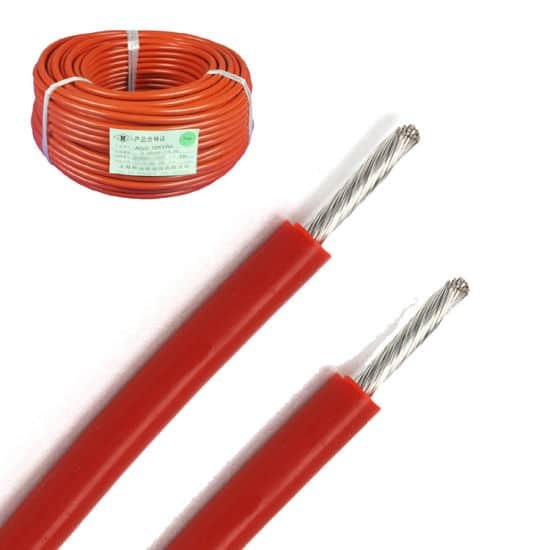 Rubber Insulated High Voltage Wires