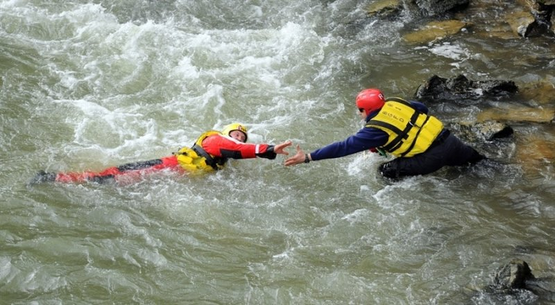 Surface Water Rescue Operation