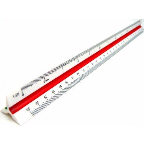 Triangular-Scale-Ruler