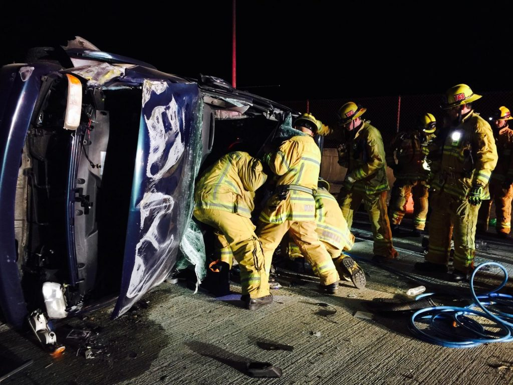 Vehicle – Extrication Rescue Operation