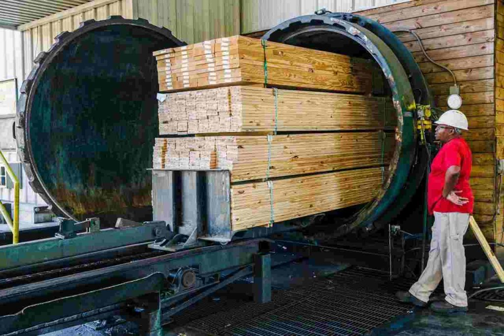 Timber Pressure treatment