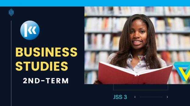 Business Studies Junior Secondary School JSS 3 2nd Term Kofa