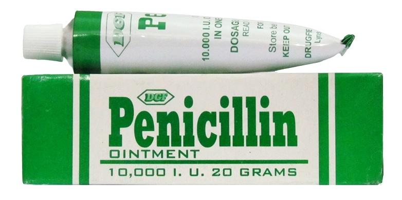 penicillin 10000 iu skin ointment 20g