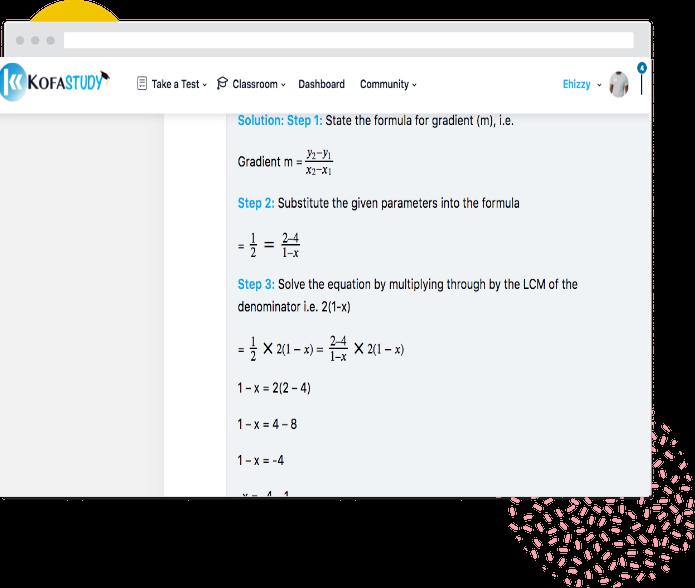 Maths Jamb past question