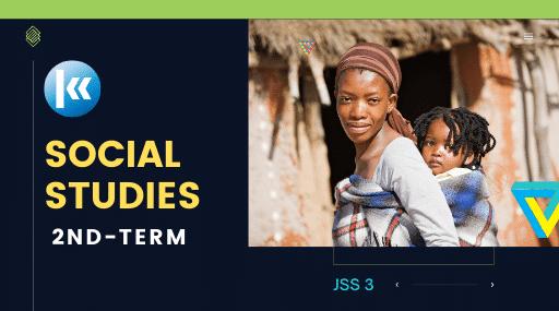 Social Studies Jss3 3rd term