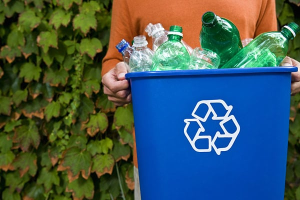 Recycling plastic is a waste reduction strategy