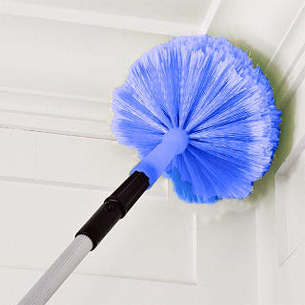 long broom to clean cobwebs