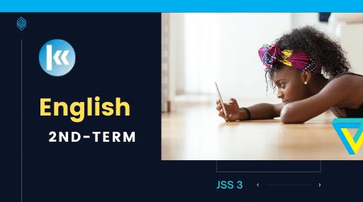 JSS3 English 2nd term KofaStudy