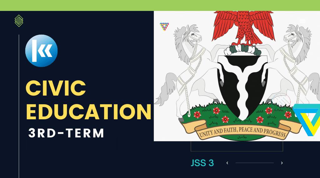 Civic Education JSS3 3RD term Kofa