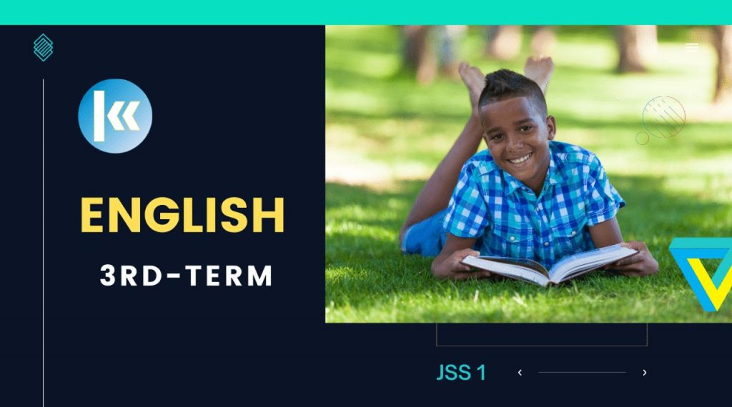 JSS1 English Language 3rd Term KofaStudy