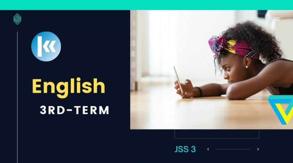 JSS3 English Language 3rd term Kofa Study